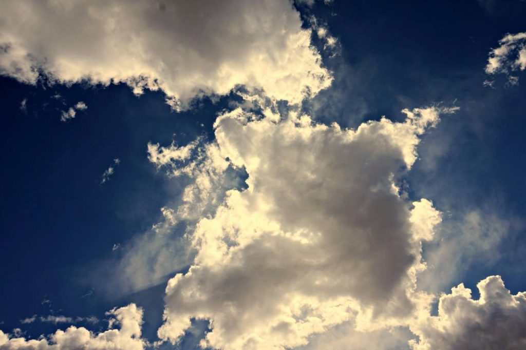 sky like mind as envisioned with mindfulness